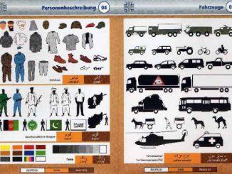Bildwörterbuch Bundeswehr Afghanistan