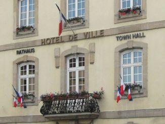 """""""Hôtel de Ville"""" von Dannemarie"""