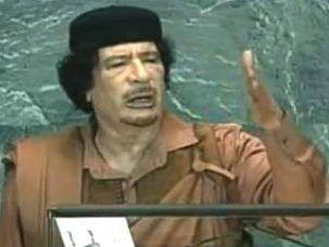 Gaddafi UNO 2009