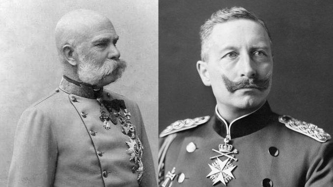Franz Josef I., Wilhelm II.