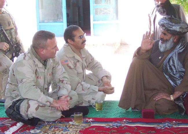 Militärdolmetscher in Afghanistan