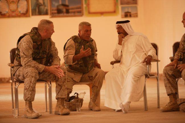 Militärdolmetscher im Irak