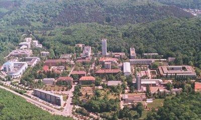 Luftbild Universität des Saarlands
