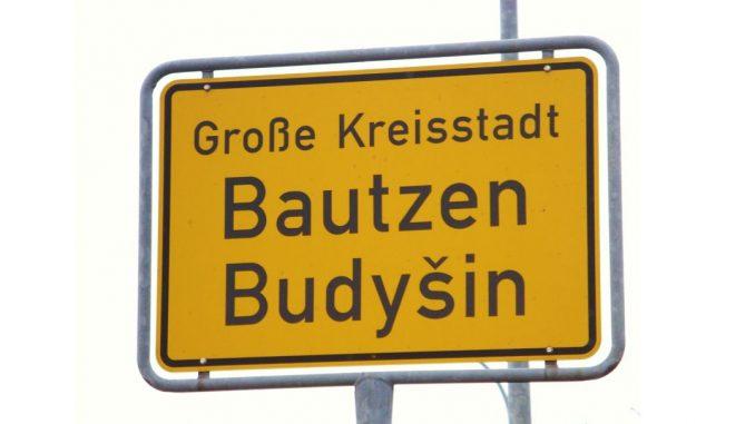 Ortsseingangsschild Bautzen
