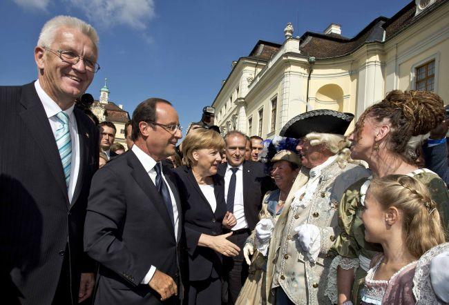 Kretschmann, Hollande, Merkel