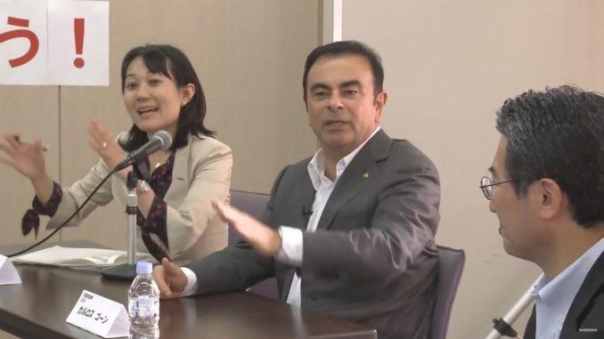 Yuki Morimoto, Carlos Ghosn