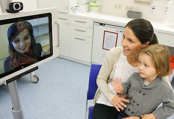 Videodolmetschen beim Arzt