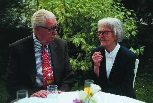 Carl Barks und Erika Fuchs