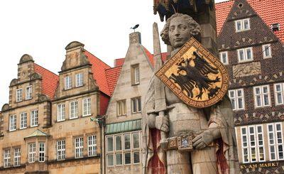 Bremen, Roland-Statue