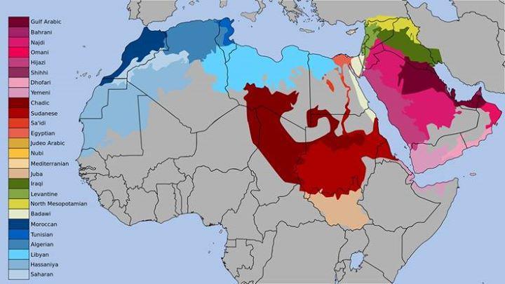 Dialekte in der arabischen Welt