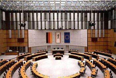 Plenarsaal Berliner Abgeordnetenhaus