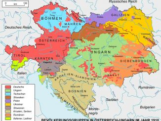 Österreich-Ungarn im Jahr 1910