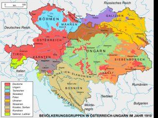 Volksgruppen Österreich-Ungarn 1910