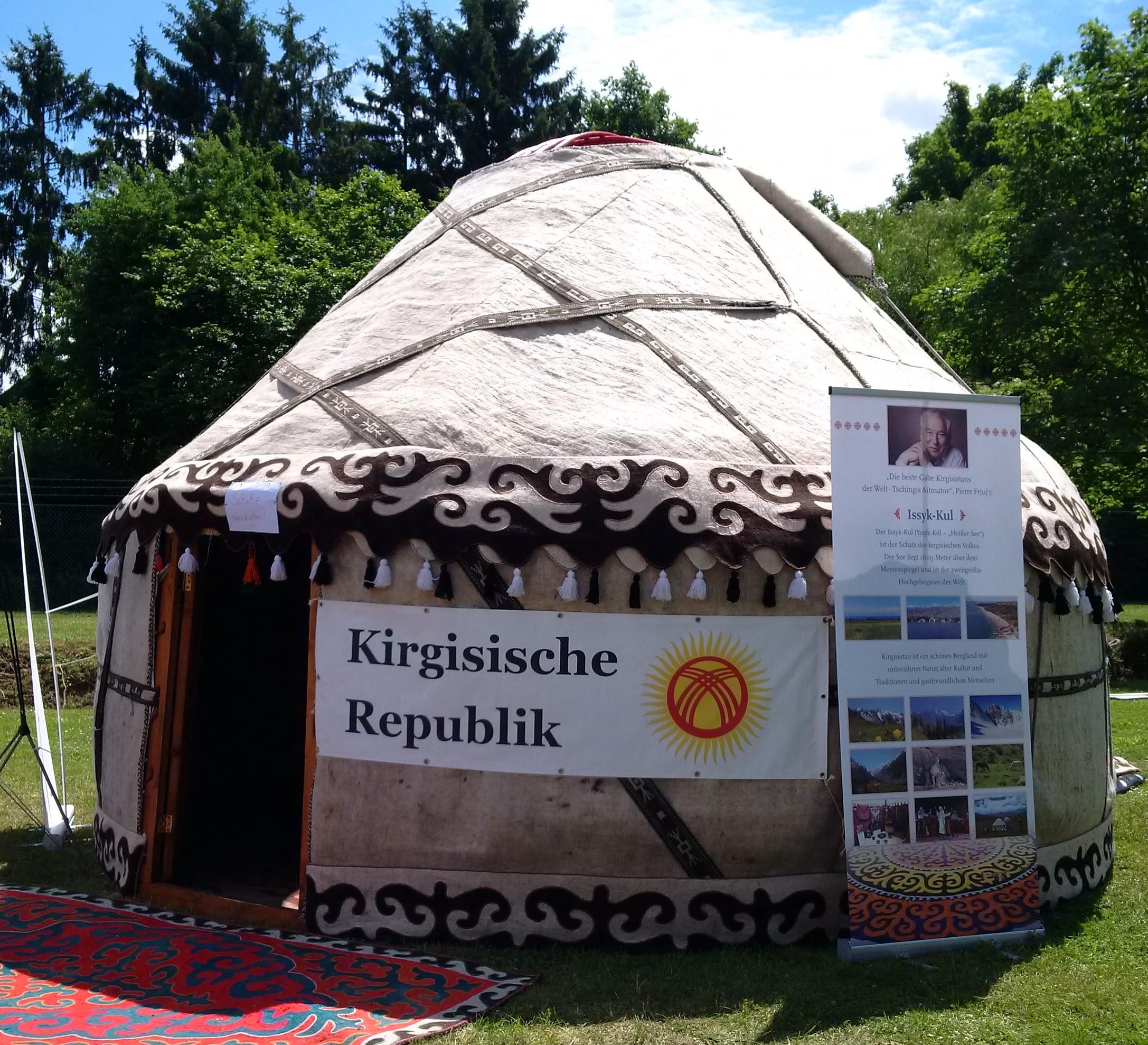 Kirgisische Jurte