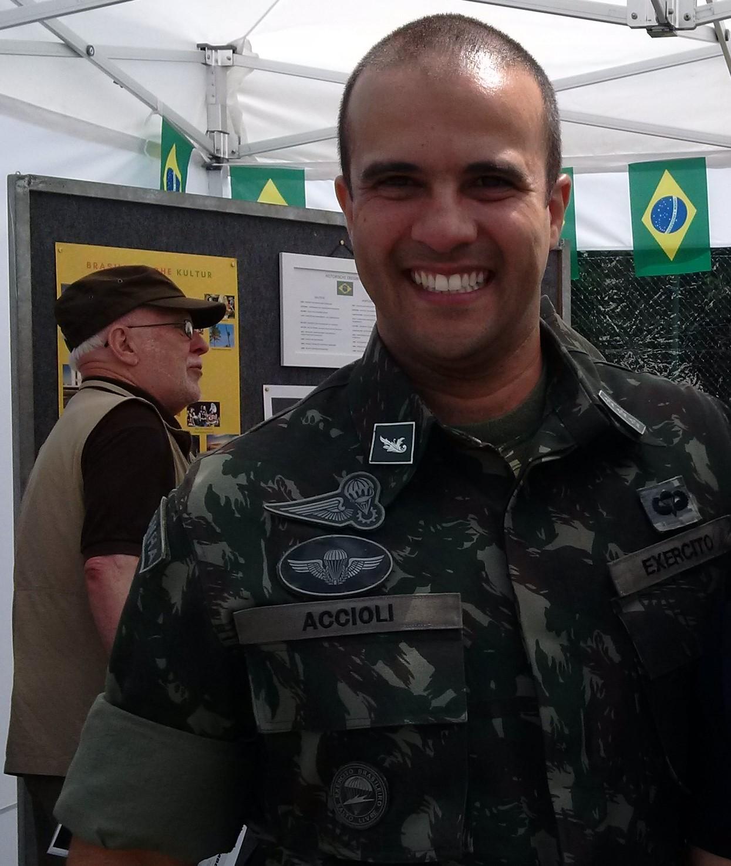 Brasilianischer Soldat