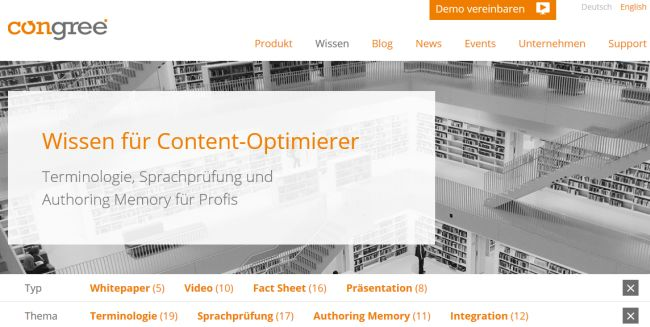 Congree-Website