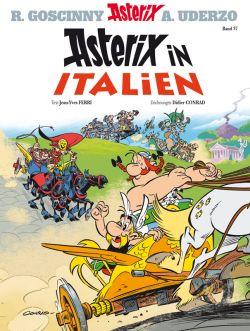 Titelseite Asterix in Italien