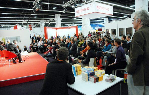 Weltempfang auf Frankfurter Buchmesse 2011