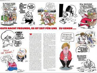 Charlie Hebdo, letzte deutsche Ausgabe