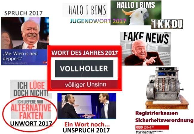 Wort des Jahres 2017 Österreich