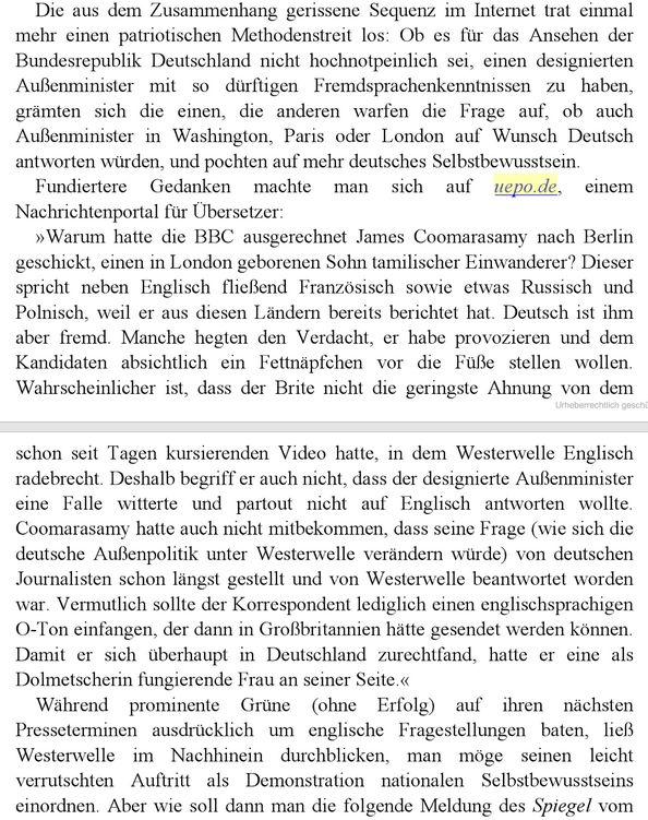 "UEPO-Zitat in ""Unser Guido"""