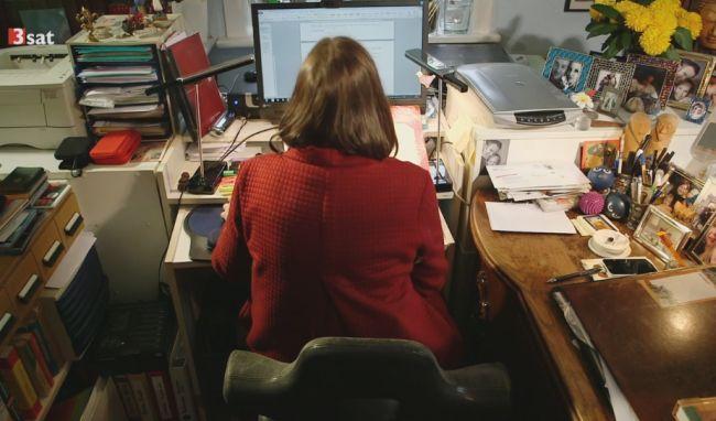 Arbeitsplatz Literaturübersetzerin