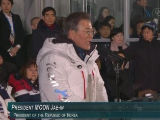 Olympia 2018, Moon Jae-in