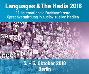 "Banner ""Languages and the Media"""