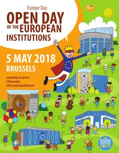 EU-Plakat zum Tag der offenen Tür 2018