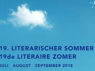 Plakat Literarischer Sommer 2018