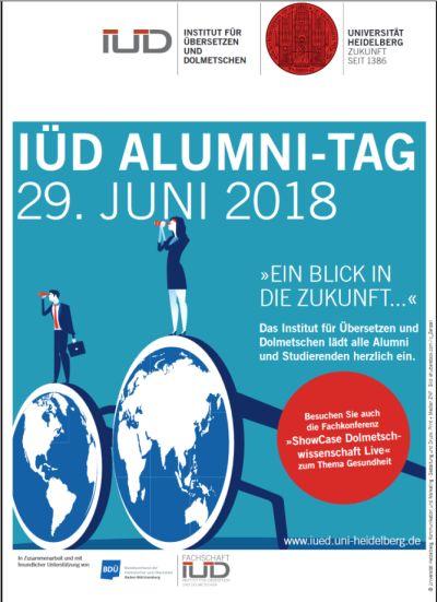 Plakat Alumni-Tag 2018