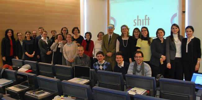 SHIFT-Gruppenfoto