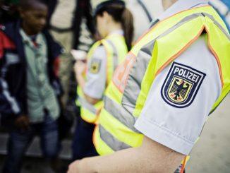 Bundespolizei Personenkontrolle