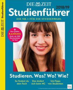 Studienführer Zeit 2018