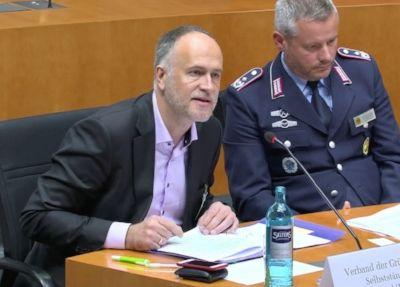 Andreas Lutz im Gesundheitsausschuss