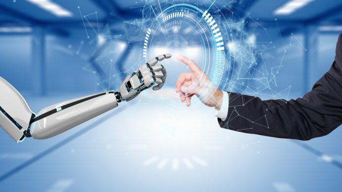 Mensch und Maschine (Roboter)