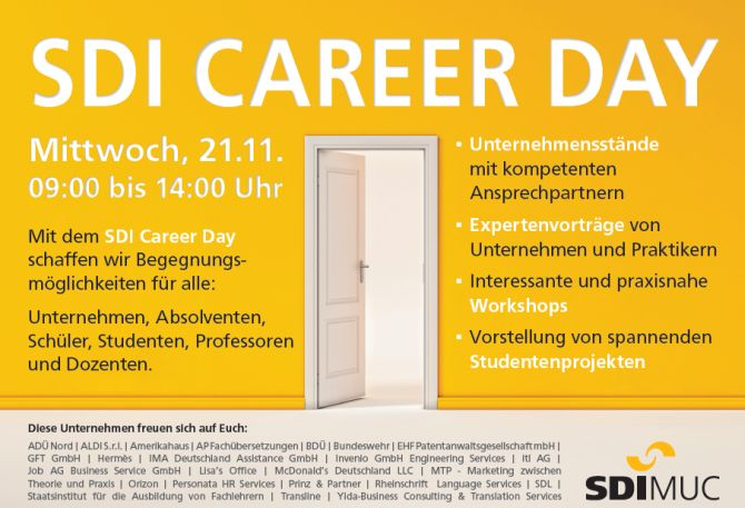 Plakat Career Day 2018