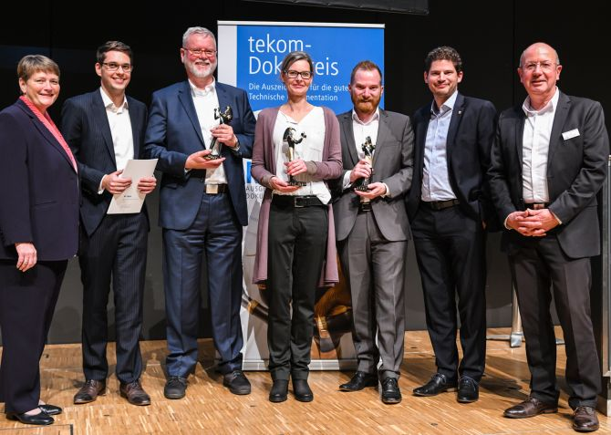 Verleihung tekom-Dokupreis