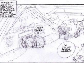 Skizze für Asterix-Band 38