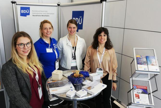 Stand von VKD und BDÜ NRW auf BOE 2019