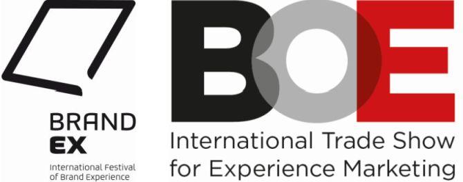 Logos von BrandEX und BOE