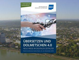 BDÜ-Konferenz Bonn, Plakat