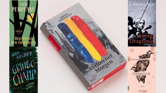 Nominierte Leipziger Buchmesse