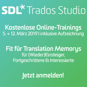 SDL Trados Studio Trainings