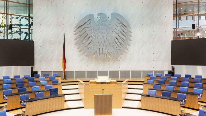 Ehemaliger Plenarsaal Deutscher Bundestag
