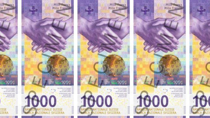 100-Franken-Schein