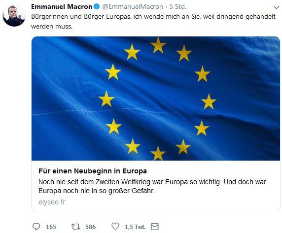 Macron-Tweet