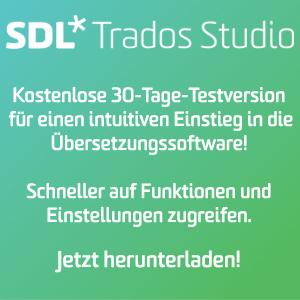 SDL Trados Studio Free Trial