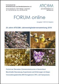 Forum-Titelseite