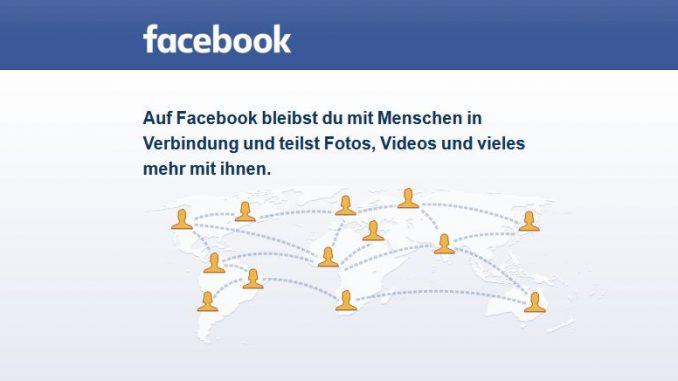 Startseite Facebook